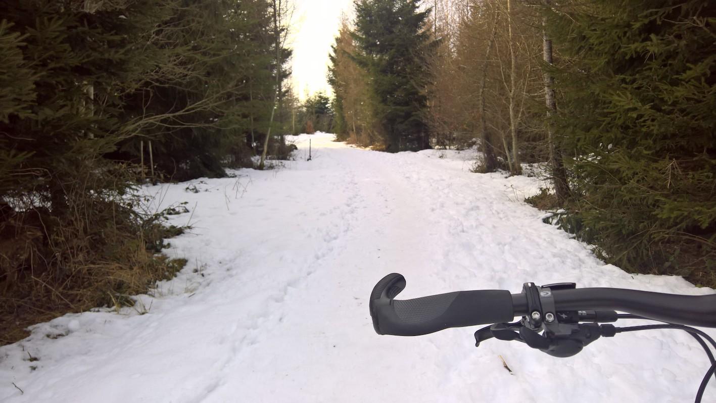 Endlich wieder aufs Bike